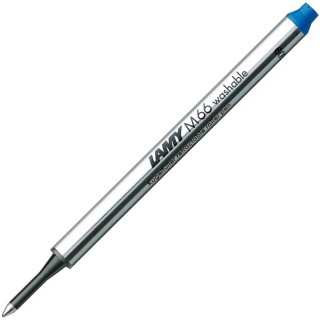 LAMY Tintenrollermine M66 löschbar blau