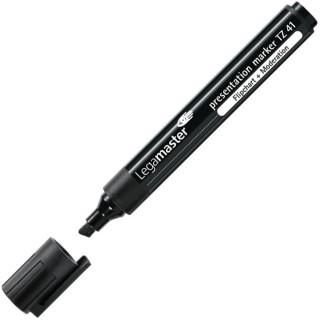 LEGAMASTER Flipchartmarker TZ41 Keilspitze 2-5 mm schwarz
