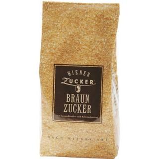 WIENER ZUCKER Braunzucker 500 g