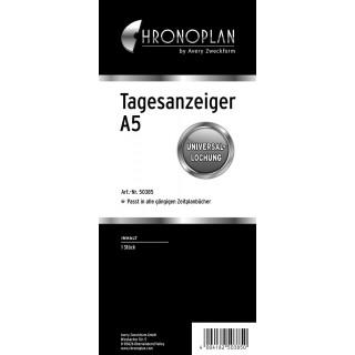 CHRONOPLAN Tagesanzeiger 50385 A5 transparent