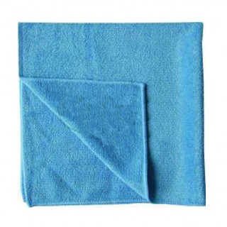 CLEAN & CLEVER Microfasertuch 40 x 40 cm blau