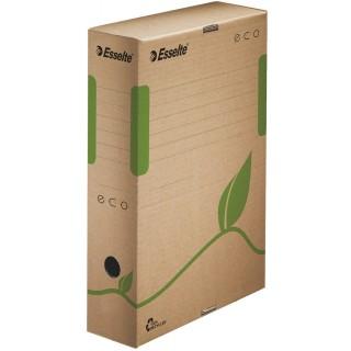 ESSELTE Eco Archivbox 8 cm naturbraun