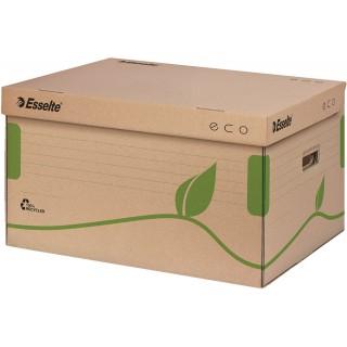 ESSELTE Eco Archiv-Container mit Deckel naturbraun