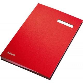ESSELTE Unterschriftenmappe A4 rot