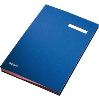 ESSELTE Unterschriftenmappe A4 blau