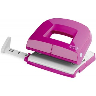 NOVUS Locher E216 16 Blatt pink