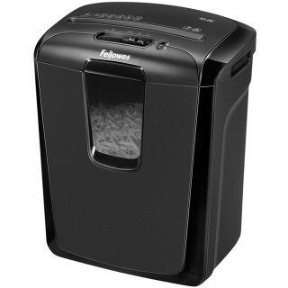 FELLOWES Aktenvernichter Powershred 4 x 50 mm Partikelschnitt schwarz