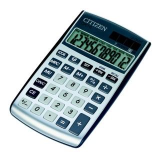 CITIZEN Taschenrechner CPC112 silber
