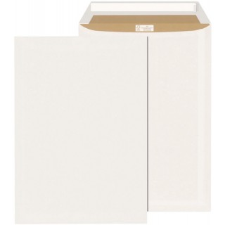 ÖKI Tasche mit Haftklebestreifen 250 Stück C4 weiß