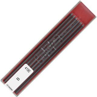 KOH-I-NOOR Bleimine 2 mm B 12 Stück graphit