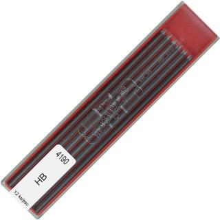 KOH-I-NOOR Bleimine 2 mm HB 12 Stück graphit