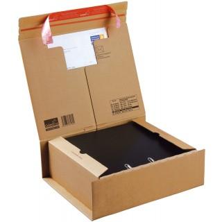 COLOM PAC Versandkarton für 2 Ordner A4+ braun