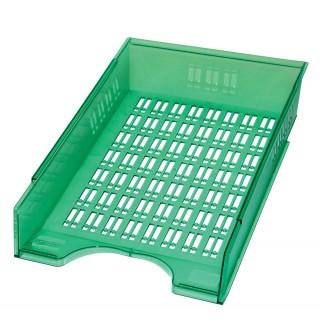 DONAU Briefablagekorb grün