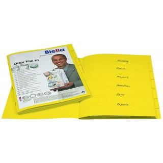 BIELLA Organisationsmappe Orga-File A4 gelb