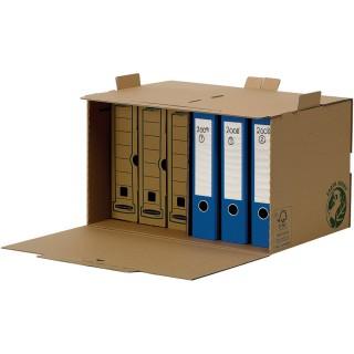 FELLOWES Stehsammler aus Recyclingkarton A4 braun