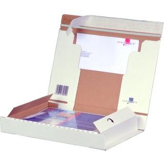SMARTBOX Post-Versandkarton A4+ weiß