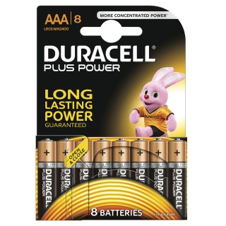 DURACELL Batterien Plus Power AAA 8 Stück