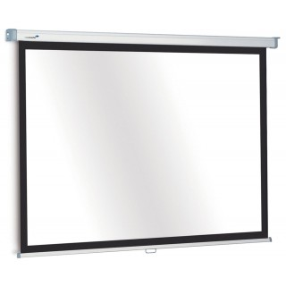 LEGAMASTER Projektionswand Premium manuell 90 x 160 cm weiß