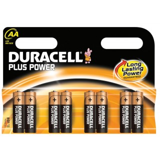 DURACELL Batterien Plus Power AA 8 Stück