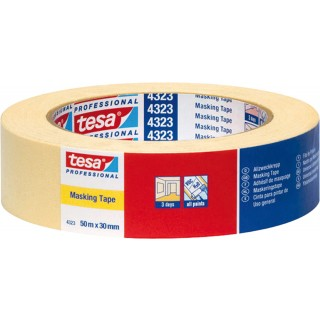 TESA Basic Allzweckkrepp 4323 38 mm x 50 m beige