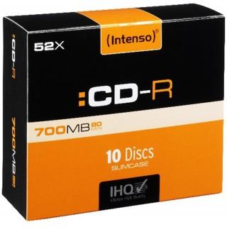 INTENSO CD-R 10 Stück im Slim Case