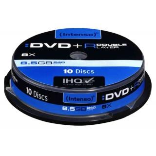 Intenso DVD+R 8,5 GB DL 8x Spindel 10 Stück