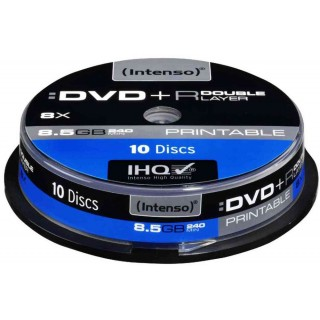 INTENSO DVD+R 10 Stück auf der Spindel