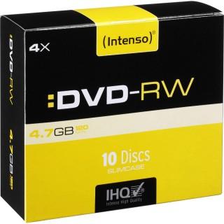 INTENSO DVD-RW 10 Stück im Slim Case