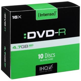 INTENSO DVD-R 10 Stück im Slim Case