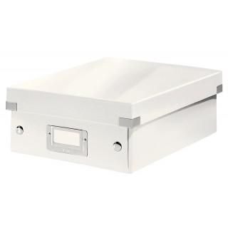 LEITZ Click & Store Organisationsbox 6057 Klein 22 x 10 x 28,5 cm weiß