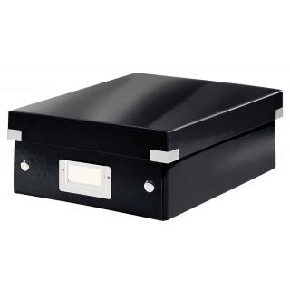 LEITZ Click & Store Organisationsbox 6057 Klein 22 x 10 x 28,5 cm schwarz