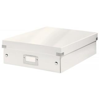 LEITZ Organisationsbox 6058 Click & Store  28 x 10 x 37 cm weiß
