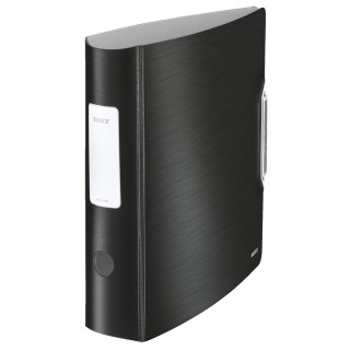 5x Leitz 1108 Ordner Active Style breit satin schwarz