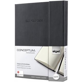 SIGEL Magnet-Notizbuch A5 194 Seiten kariert