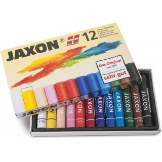 JAXON Ölpastellfarben 12 Stück