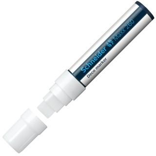 SCHNEIDER Dekomarker Maxx 260 Keilspitze 5-15 mm weiß