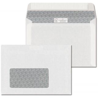 ÖKI Fensterkuvert mit Haftklebestreifen 1000 Stück C6 weiß