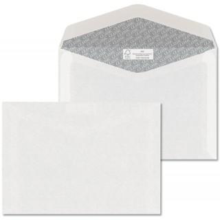 ÖKI Kuvert Classic C6/CLA80 1000 Stück DIN C6 ohne Fenster gummiert 80g/m² weiß