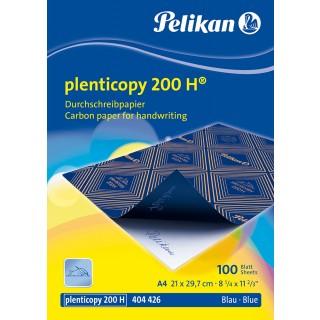PELIKAN Durchschreibepapier Plenticopy 200H 100 Blatt A4 blau