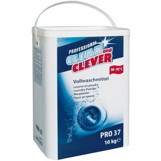 CLEAN & CLEVER Vollwaschmittel PRO37 10 kg