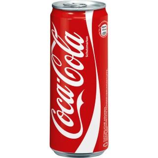 COCA COLA Dose 0,33 Liter
