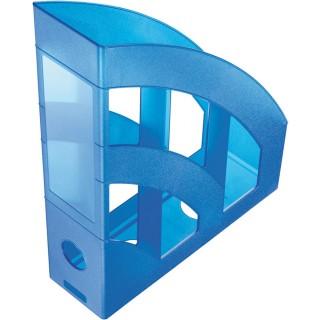 HELIT Stehsammler A4 blau transluzent