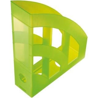 HELIT Stehsammler A4 grün transluzent