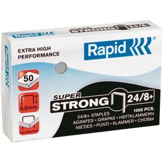 RAPID Heftklammern Super Strong 24/8+ 1000 Stück silber