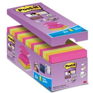 POST-IT Z-Notes R330 76 x 76 mm 14 + 2 gratis