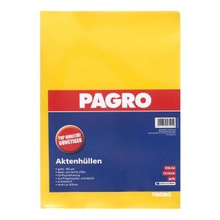 PAGRO Aktenhülle A4 160µ 10 Stück gelb