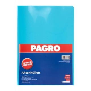 PAGRO Aktenhülle A4 160µ 10 Stück türkis