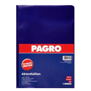 PAGRO Aktenhülle A4 160µ 10 Stück lila