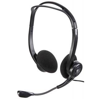 LOGITECH Headset PC960 Stereo USB schwarz
