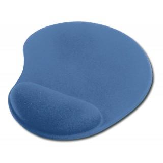 EDNET Mauspad mit Handballenauflage blau